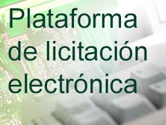 Licitación electrónica de la Agencia