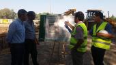 Inicio de las obras de mejora y ampliación de la depuradora de Villamartín