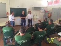 Visita el Centro de Defensa Forestal de Huelma, Jaén