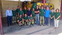 Visita del director gerente de la Agencia a centros y equipamientos en Jaén