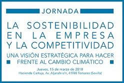 Jornada de sostenibilidad y competitividad el próximo 15 de marzo en Sevilla